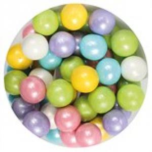 Purple Cupcakes 10mm Sugar Pearls - Rainbow (80g)