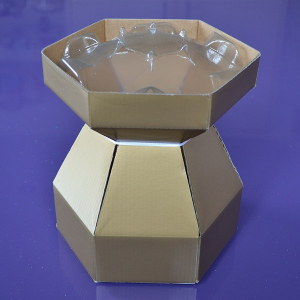 Purple Cupcakes - Cupcake Bouquet Box - Gold