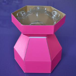 Purple Cupcakes - Cupcake Bouquet Box - Cerise