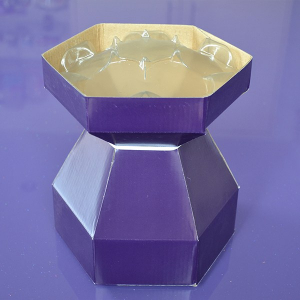 Purple Cupcakes - Cupcake Bouquet Box - Purple