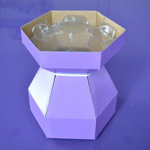 Purple Cupcakes - Cupcake Bouquet Box - Lilac