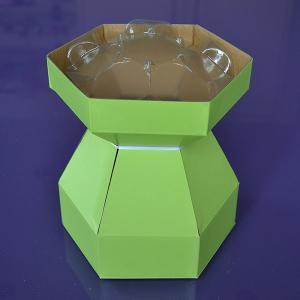Purple Cupcakes - Cupcake Bouquet Box - Lime