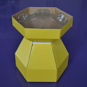 Purple Cupcakes - Cupcake Bouquet Box - Yellow