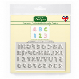 Katy Sue Designs Mat - Mini Domed Alphabet and Numbers