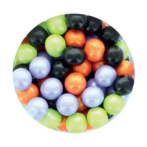 Purple Cupcakes 10mm Sugar Pearls - Halloween (60g)