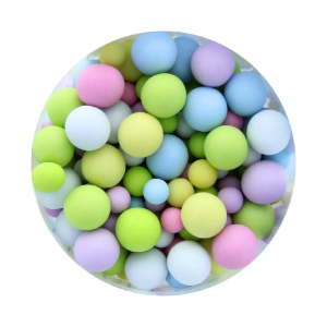 Purple Cupcakes Crisp Chocolate Pearls - Sorbet Bubbles (70g)