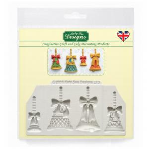 Katy Sue Designs Mould - Christmas Bells