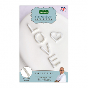 Katy Sue Designs Mould - Creative Cake System - Love Letters