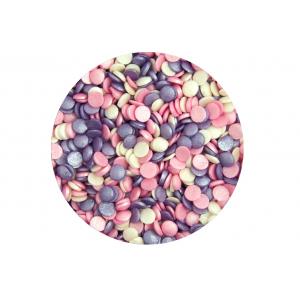Scrumptious Sugar Sprinkles - Glimmer Confetti - Ice Pink Mix (70g)
