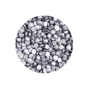 Scrumptious Sugar Sprinkles - Glimmer Confetti - Silver (70g)