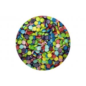 Scrumptious Sugar Sprinkles - Glimmer Confetti - Rainbow Mix (70g)