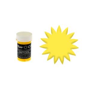 Sugarflair Pastel Paste - Daffodil (25g)