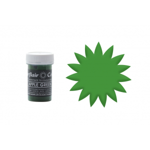 Sugarflair Pastel Paste - Apple Green (25g)