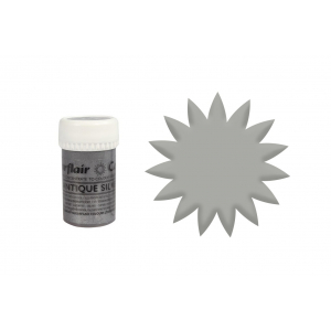 Sugarflair Satin Paste Concentrate - Antique Silver (25g)