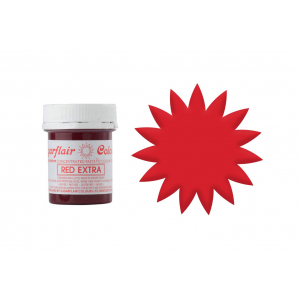 Sugarflair Maximum Concentrated Paste - Red Extra (42g)
