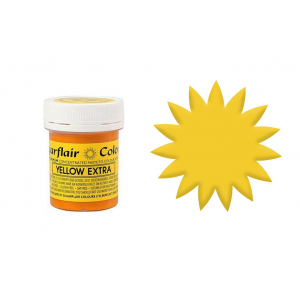 Sugarflair Maximum Concentrated Paste - Yellow Extra (42g)
