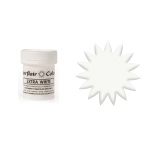 Sugarflair Maximum Concentrated Paste - Extra White (50g)