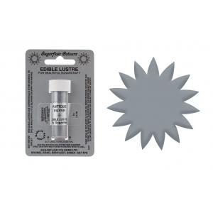 Sugarflair Metallic Lustres - Antique Silver (2g)
