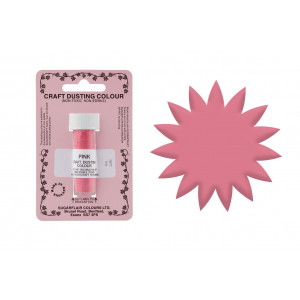 Sugarflair Craft Dust - Pink (7ml)