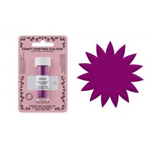 Sugarflair Craft Dust - Violet (7ml)