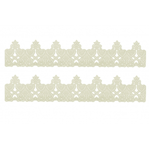 Ready Made Edible Cake Lace - Juliet (Pack of 2)