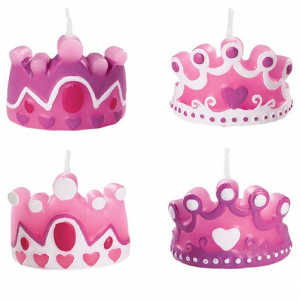 Wilton Shaped Candles - Princess (Pack of 4)