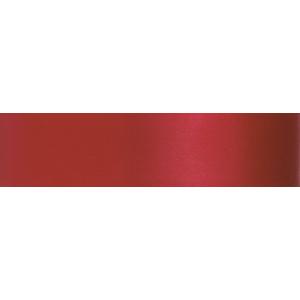 Culpitt Double Faced Satin Ribbon - Scarlet - 25mm x 20m