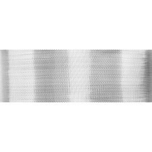 Culpitt Woven Metallic Ribbon - Silver - 25mm x 20m