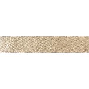 Culpitt Double Faced Satin Ribbon - Glitter Gold - 15mm x 20m
