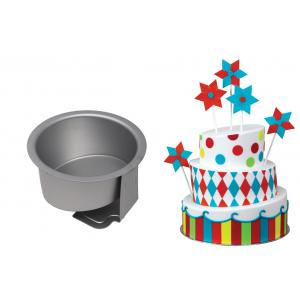 """PME Topsy Turvy Cake Pan - Round - 6"""""""