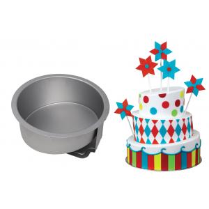 """PME Topsy Turvy Cake Pan - Round - 8"""""""