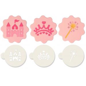 Jem Stencil - Princess (Set of 3)