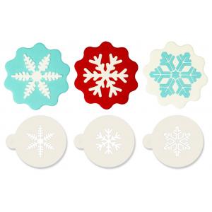 Jem Stencil - Snowflakes (Set of 3)