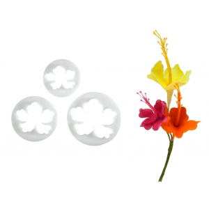 FMM Cutter - Hawaiian Flower (Set of 3)