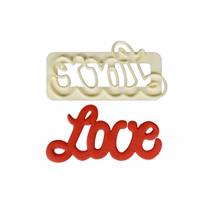 "FMM Cutter - ""Love"" - Large"