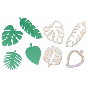 FMM Cutter - Totally Tropical Leaves (Set of 4)