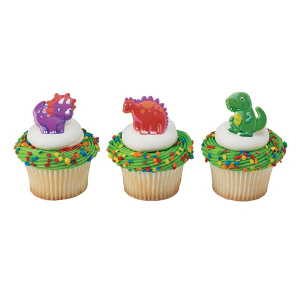 DecoPac Cake Ring Decoration - Dino Pals (Pack of 144)