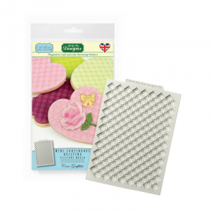 Katy Sue Designs Mould - Creative Cake System - Continuous Quilting Mat - Mini
