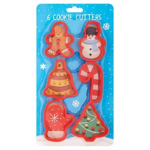 Culpitt Cookie Cutter Set - Festive (6 Piece)