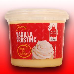 Cake Décor Pro Ready-To-Use Frosting - Creamy Vanilla (400g)