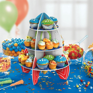 Amscan 3 Tier Rocket Cake Stand