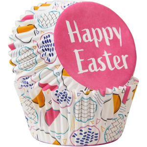 Wilton Baking Cases - Happy Easter / Eggs (Pack of 75)