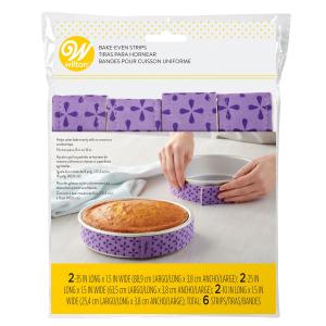 Wilton Bake-Even Cake Strips (Pack of 6)