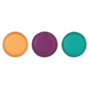 Wilton Baking Cases - Jewel Colours (Pack of 75)
