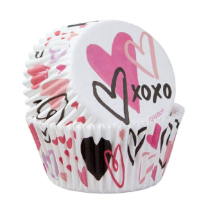 Wilton Baking Cases - Valentine Hearts (Pack of 75)