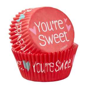 Wilton Baking Cases - You're Sweet (Pack of 75)
