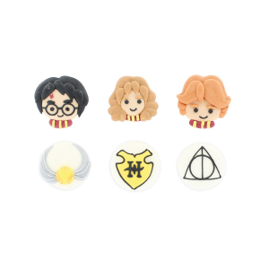 Culpitt Handmade Sugar Decorations - Harry Potter Collection (Pack of 81)