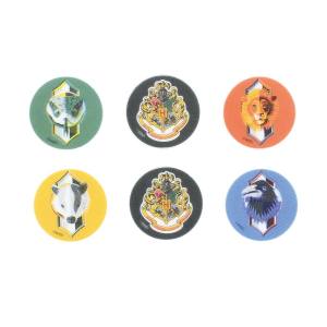 Culpitt Printed Sugar Edible Toppers - Harry Potter Collection - 38mm (Pack of 144)
