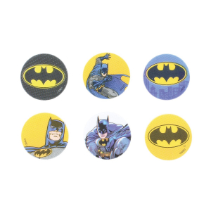 Culpitt Printed Sugar Edible Toppers - Batman Collection - 38mm (Pack of 144)