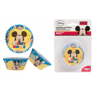Dekora Cupcake Cases - Mickey Mouse (Pack of 50)